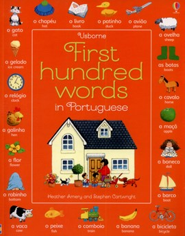 Usborne first hundred words in Portuguese by Heather Amery