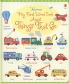 Usborne my first word book about things that go