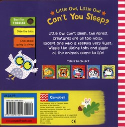Little owl, little owl, can't you sleep? by Jo Lodge