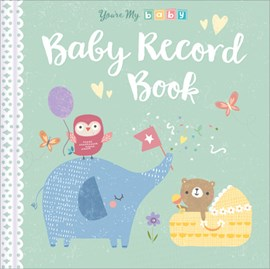 Baby Record Book by Genine Delahaye