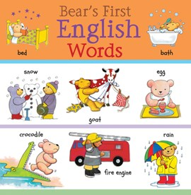 Bear's first English words by Clare Beaton