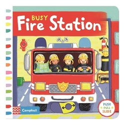 Busy fire station by Ruth Redford