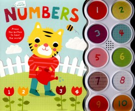 Little Friends Numbers Board Book by Mara van der Meer
