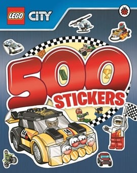 LEGO City: 500 Stickers by