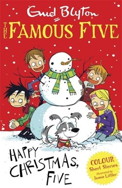 Happy Christmas, Five by Enid Blyton