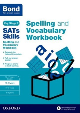 Spelling and vocabulary. 10-11 years Workbook by Michellejoy Hughes