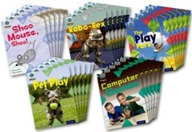 Project X Origins: Light Blue Book Band, Oxford Level 4: Toys and Games: Class Pack of 30 by Jan Burchett