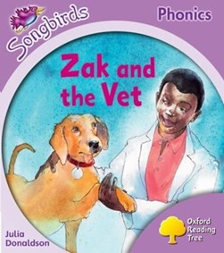 Zak and the vet by Julia Donaldson
