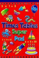 TIMES TABLES SUPER PAD