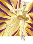 Ballet Costumes Coloring Book
