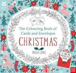 National Trust: The Colouring Book of Cards and Envelopes - Christmas by Rebecca Jones
