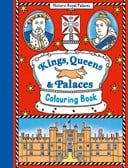 Kings, queens & palaces colouring book