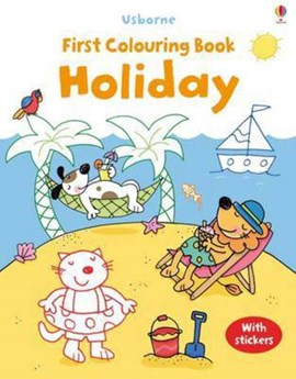 First Colouring Book Holiday P/B by Jessica Greenwell