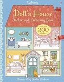 Doll's House Sticker and Colouring Book