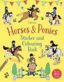 Horses & Ponies Sticker and Colouring Book