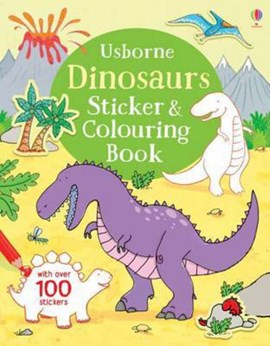 Dinosaurs Colouring and Sticker Book by Sam Taplin