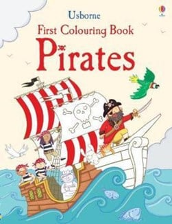 First Colouring Book Pirates P/B by