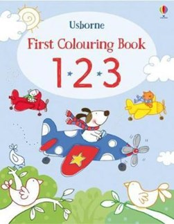 First Colouring Book 123 P/B by Stacey Lamb