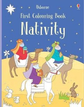 First Colouring Book Nativity by Felicity Brooks