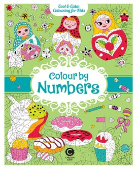 Cool Calm Colouring for Kids: Colour by Numbers by Eugénie Varone