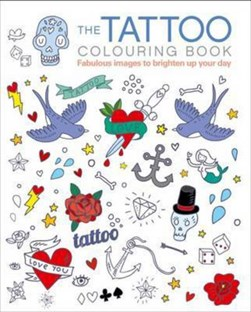 Tattoo Colouring Book by Arcturus Publishing