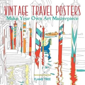 Vintage Travel Posters (Art Colouring Book) by David Jones