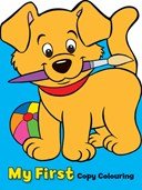 My First Copy Colouring: Puppy