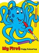 My First Copy Colouring: Octopus