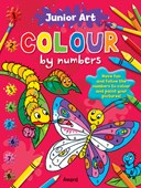 Junior Art Colour By Numbers: Butterfly