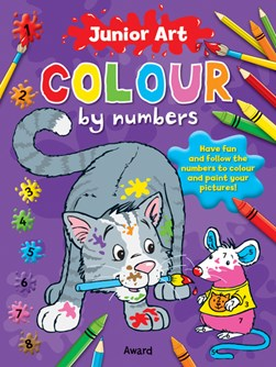 Junior Art Colour By Numbers: Cat by Angela Hewitt