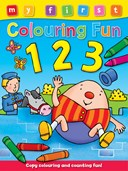 My First Colouring Fun: 123