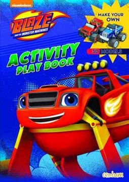 Blaze Press Out & Play Activity Book (FS) by