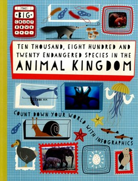 Ten thousand, eight hundred and twenty endangered species in the animal kingdom by Paul Rockett