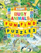 Giant fun-to-find puzzles