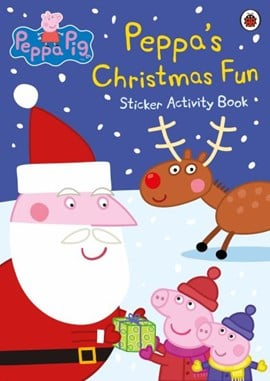 Peppa Pig: Peppa's Christmas Fun Sticker Activity Book by