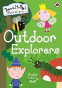 Outdoor explorers sticker activity book