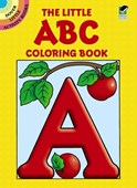 The little A B C coloring book