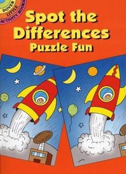 Spot the Differences Puzzle Fun by Fran Newman D'Amico