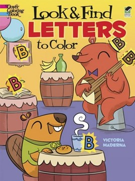 Look & Find Letters to Color by Maderna