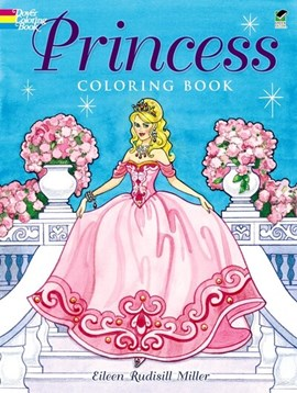 Princess Coloring Book by Eileen Miller