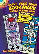 Make Your Own Bookmark Sticker Activity Book