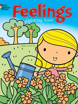 Feelings Coloring Book by John Kurtz