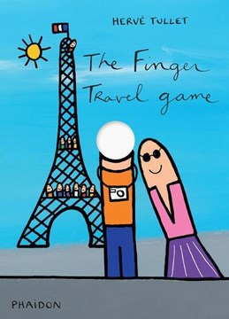 The finger travel game by Hervé Tullet