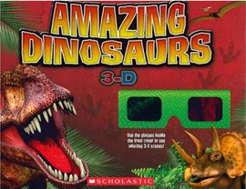 Amazing Dinosaurs 3-D P/B by Nancy Honovich