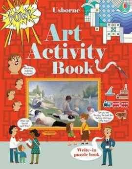 Art Activity Book by Sam Baer