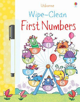Wipe-clean First Numbers by Jessica Greenwell