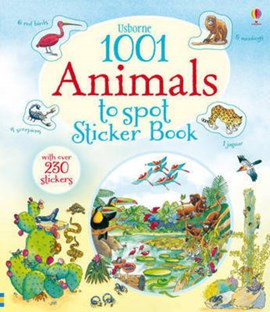 1001 Animals to Spot Sticker Book by Teri Gower