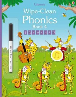 Wipe-Clean Phonics: Book 4 by Mairi Mackinnon