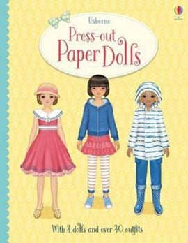 Press-Out Paper Dolls by Fiona Watt