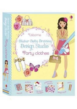 Sticker Dolly Dressing Design Studio Party Clothes by Fiona Watt